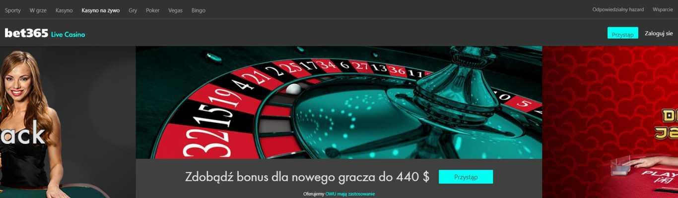 Bet365 kasyno specjalne kody