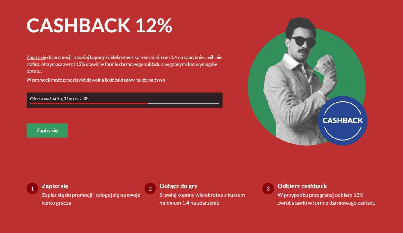 PZBUK cachback 12%